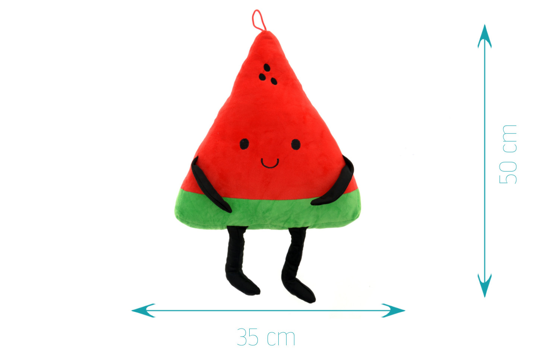 Detská plyšová hračka - usmievavý melón