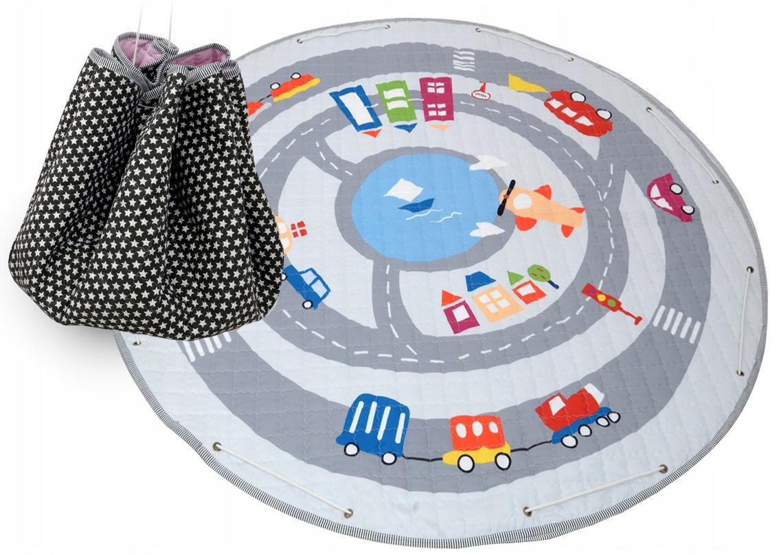 Detský koberček na hranie - autíčka