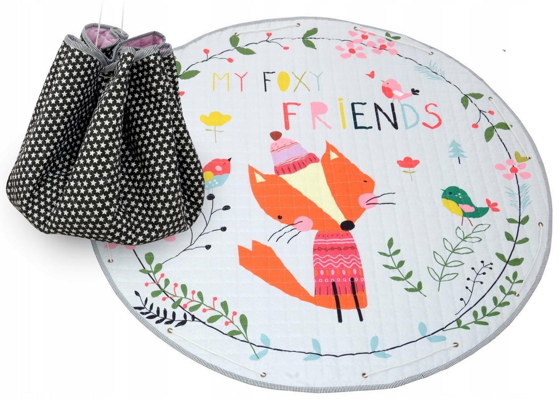 Detský koberček na hranie - Foxy