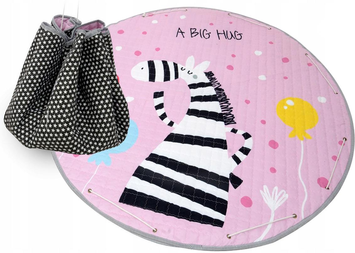 Detský koberček na hranie - zebra