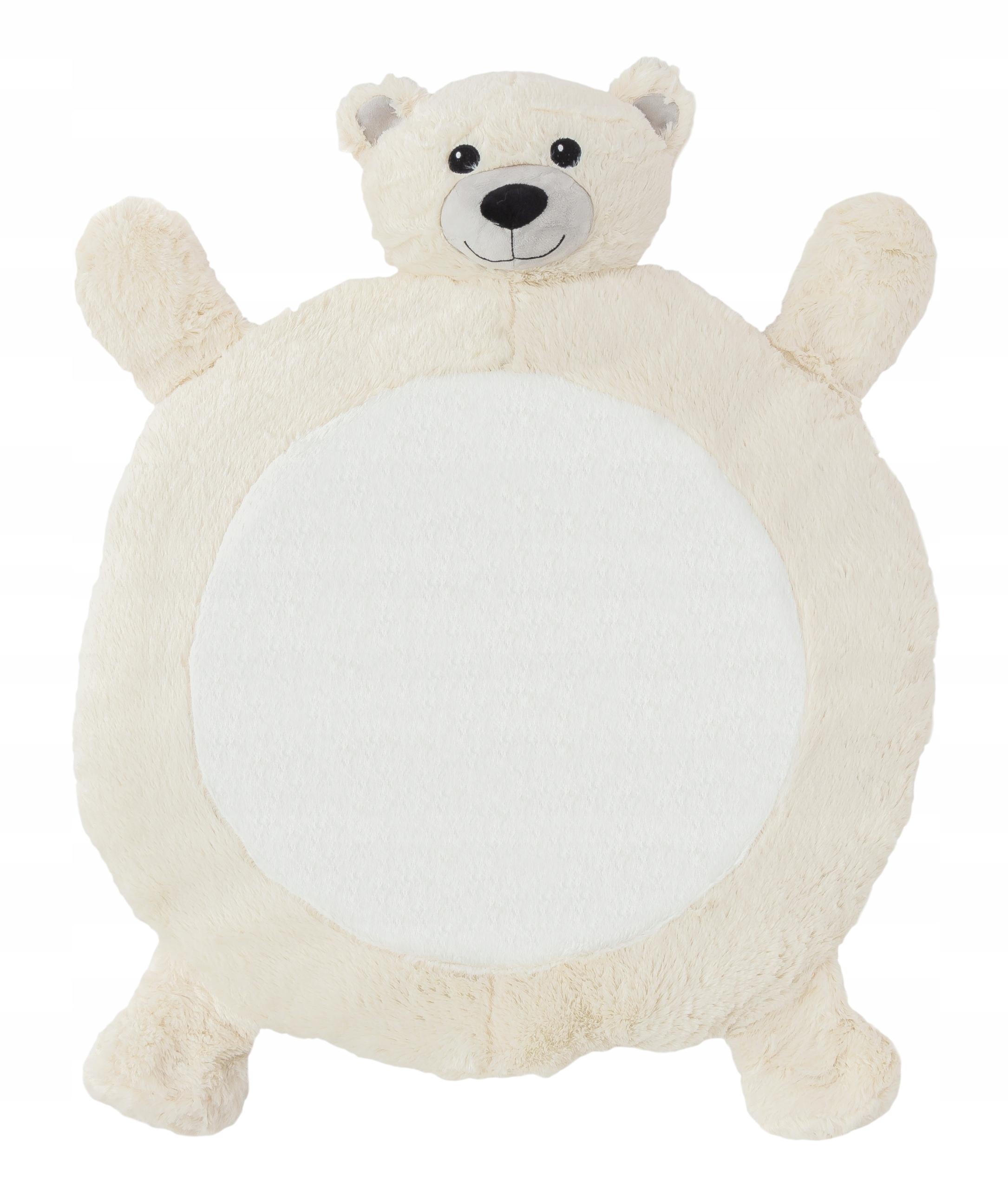 Plyšová detská podložka - medvedík