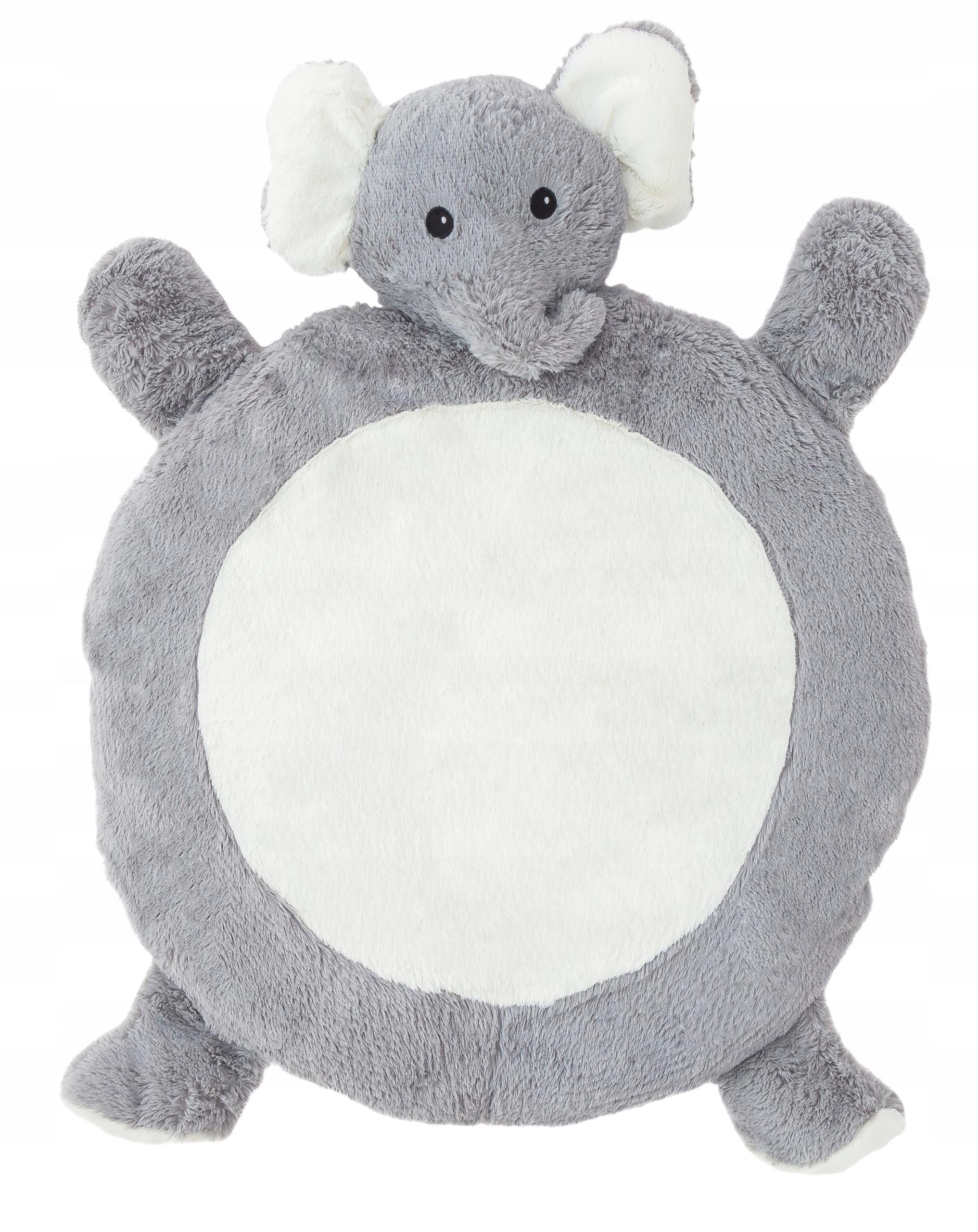Plyšová detská podložka - sloník