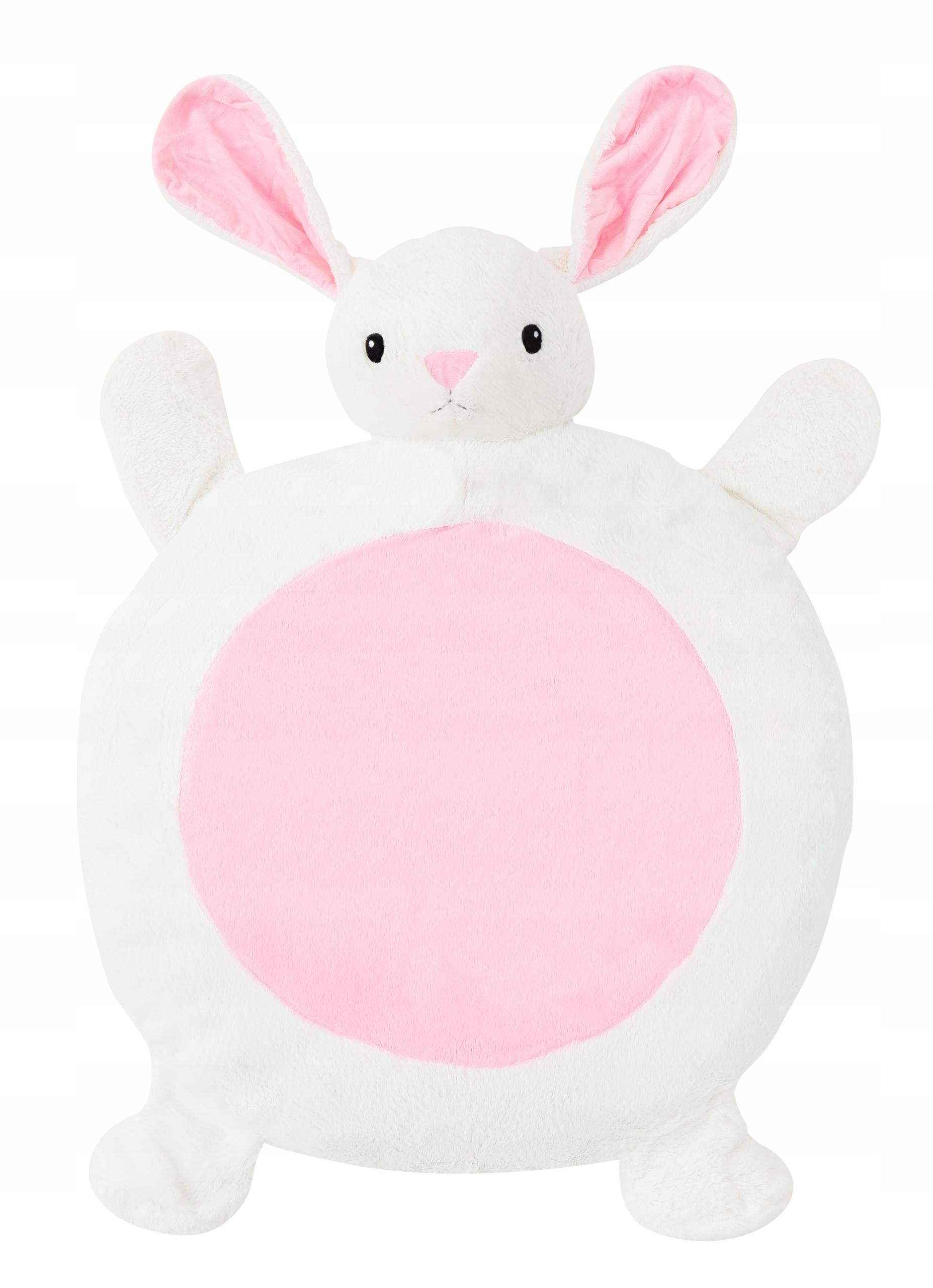 Plyšová detská podložka - zajačik