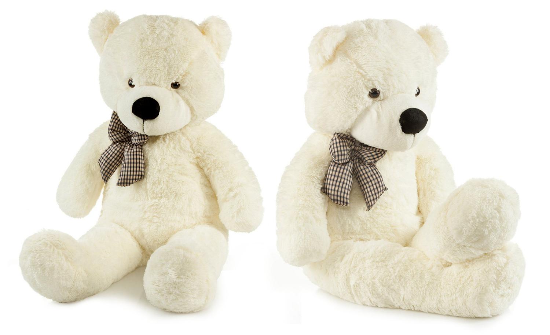 Detská plyšová hračka - béžový macko 130 cm