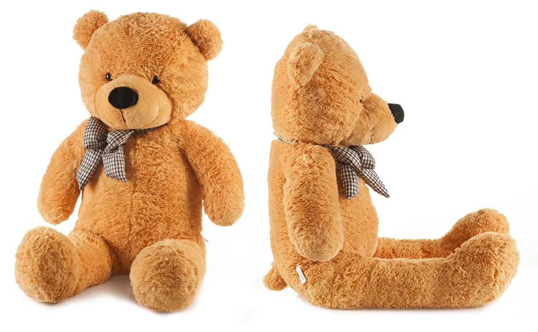 Detská plyšová hračka - hnedý macko 130 cm