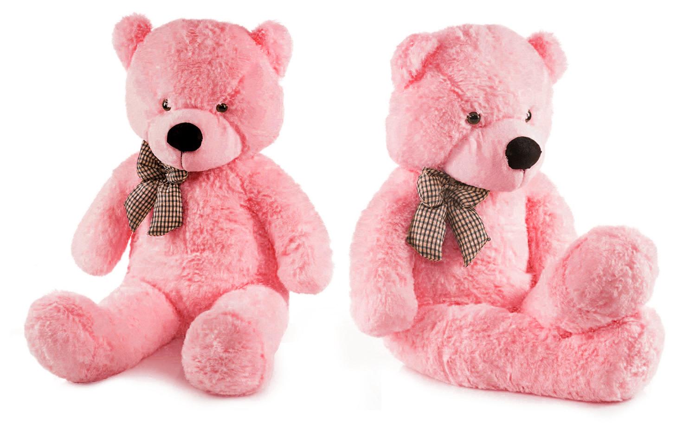Detská plyšová hračka - ružový macko 130 cm