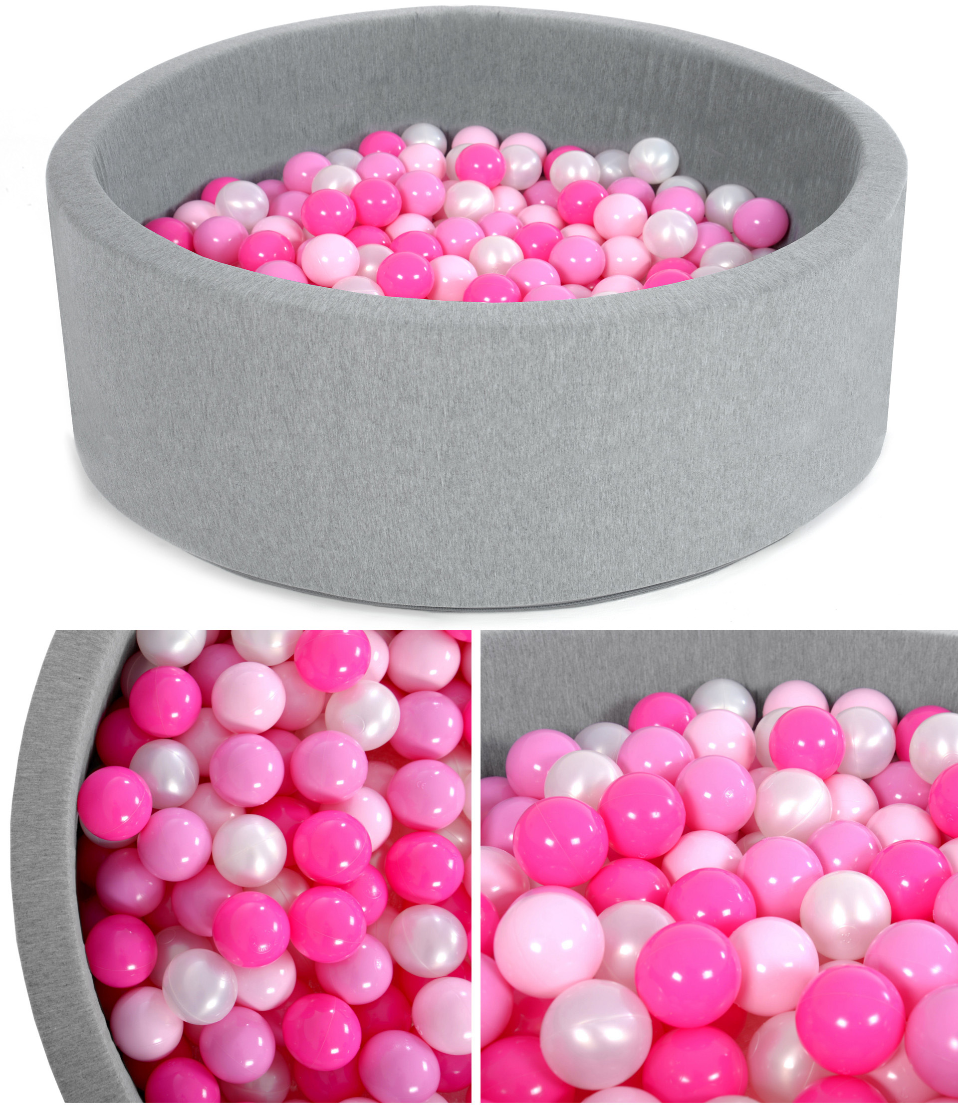 Suchý bazén - ružová