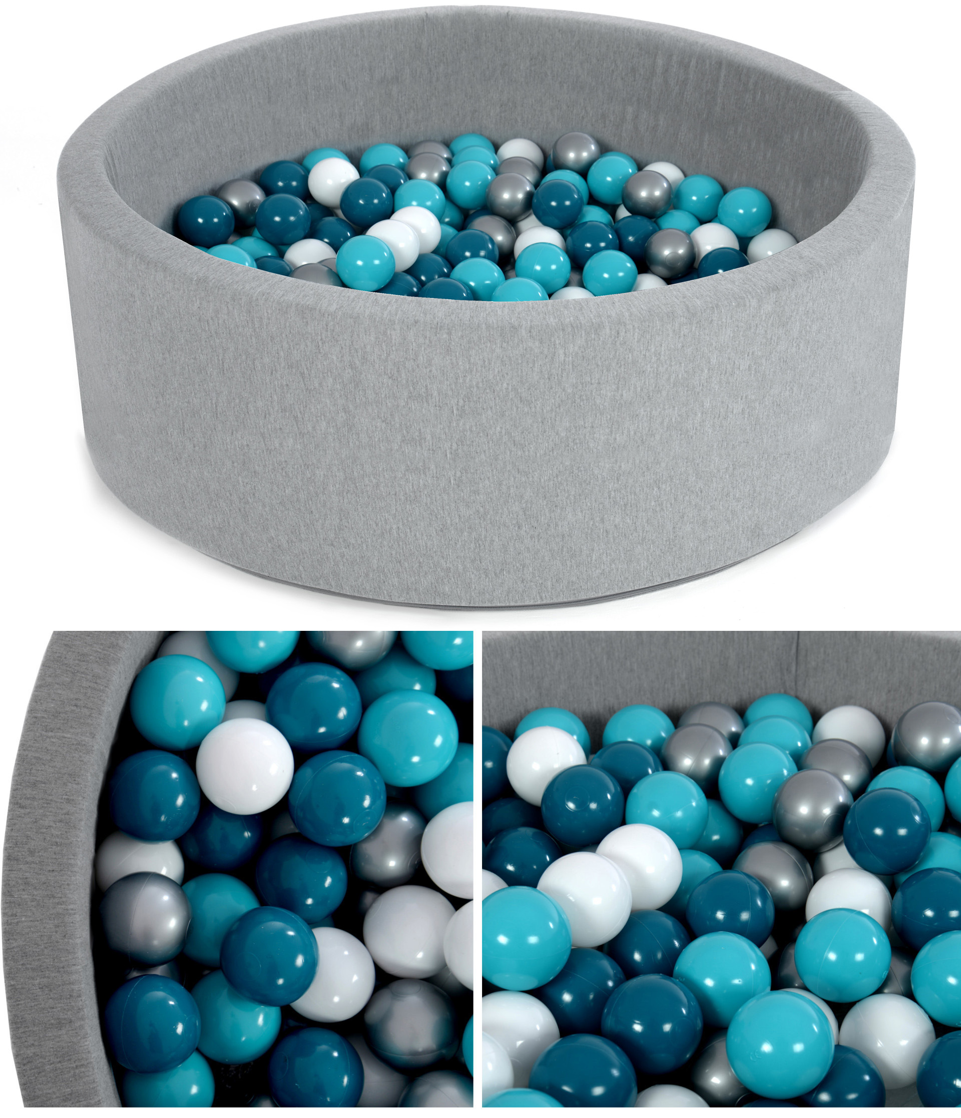 Suchý bazén - tmavo modrá